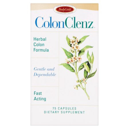 Bodygold Dietary Supplement Colon Clenz 75 ct