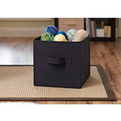 Better Homes and Gardens Collapsible Fabric Storage Cube, Set of 8, Multiple Colors