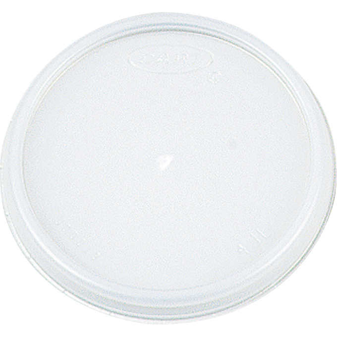 Dart Foam Cup Lid White 8oz 1,000ct