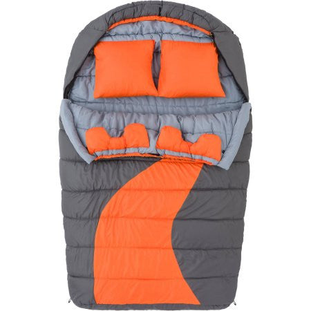 Ozark Trail 20F degree Cold Weather Double Mummy Sleeping Bag