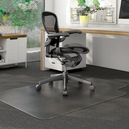 Deflecto EconoMat Anytime Use Chair Mat, Clear (Choose Size)