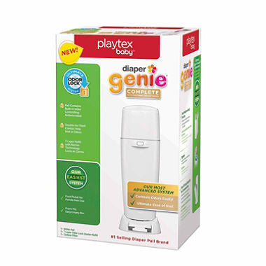Diaper Genie Complete Pail System, White