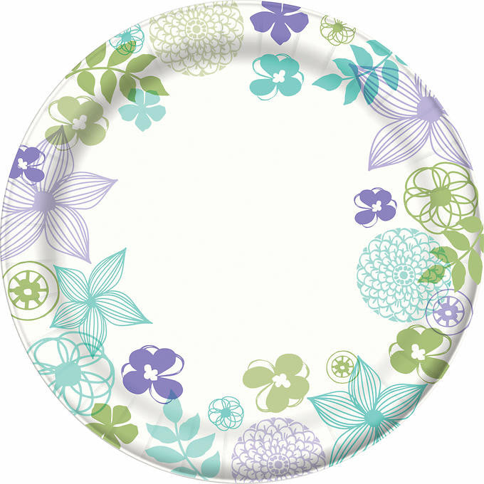 "Dixie Ultra Paper Plate 8-1/2"" 276ct"