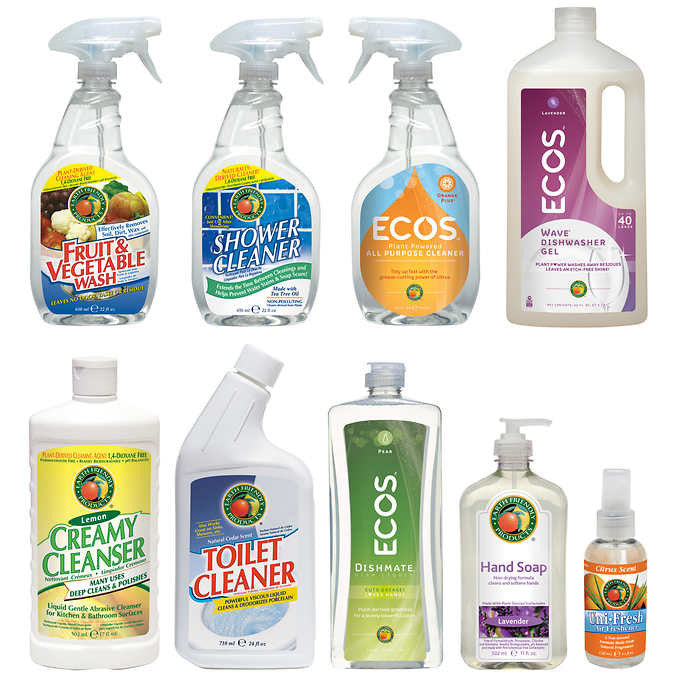 ECOS Earth Friendly Products Kitchen and Bath Cleaning Set