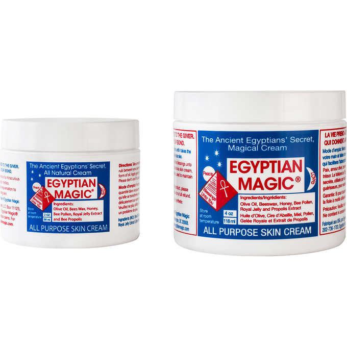 Egyptian Magic Natural All Purpose Skin Cream 4 oz. & 2 oz.