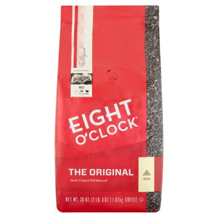 Eight O'Clock The Original Ground Coffee (12 or 36 oz Bag)