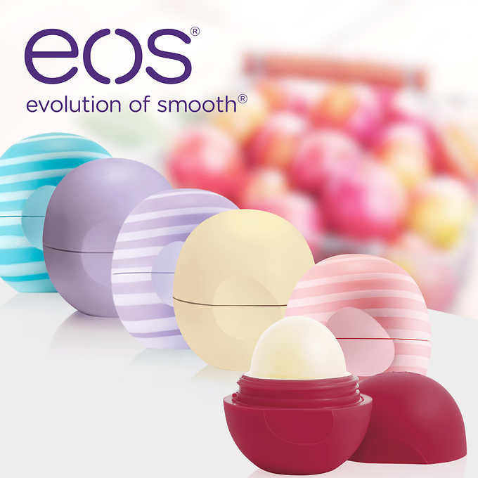 eos Lip Balm, 6 Pack