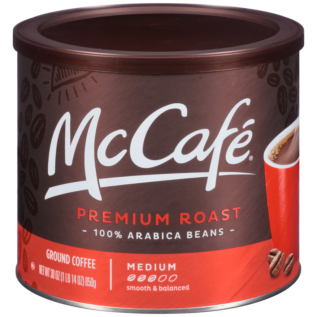 McCafé® Premium Roast Ground Coffee 30 oz. Canister