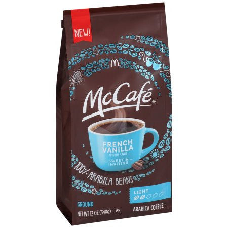 McCafe® French Vanilla Ground Coffee 12 oz. Bag