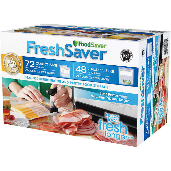 FoodSaver® FreshSaver® Zipper Bag Combo Pack