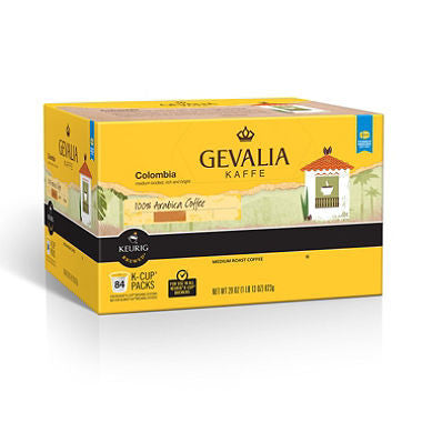 Gevalia Kaffe Colombian Coffee 84 k cups