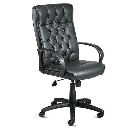 High-Back Executive Plus Task Chair, Black