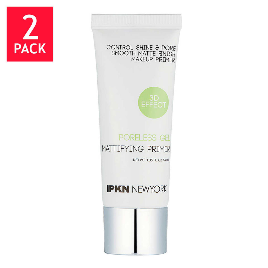 IPKN Poreless Gel Mattifying Primer, 2-pack