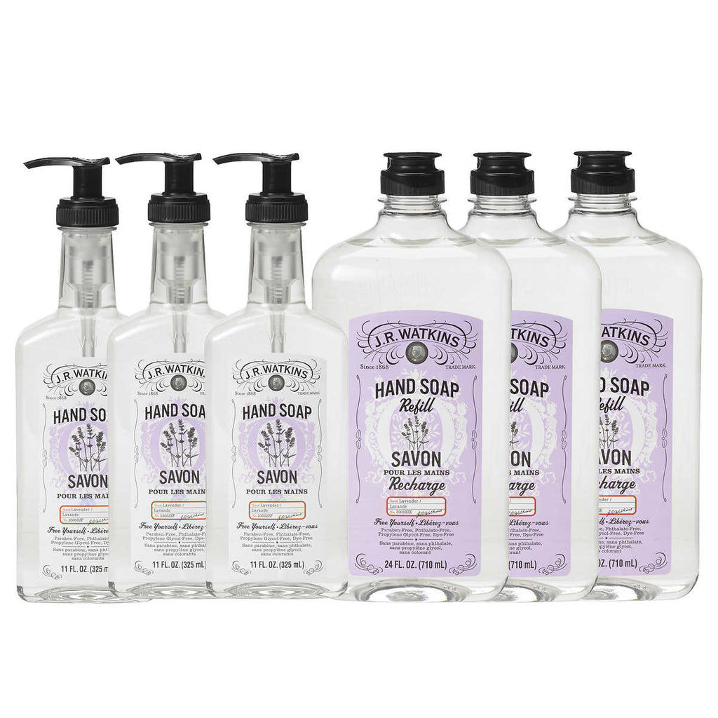 J.R. Watkins Hand Soap Bundle Pick your scent