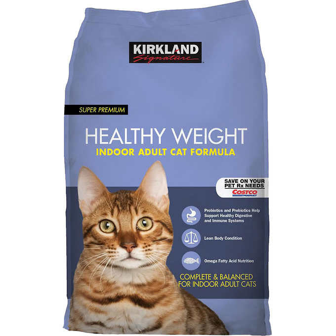 Kirkland Signature™ Super Premium Healthy Weight Indoor Adult Cat Formula 20lb Bag