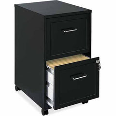 "Lorell SOHO 18"" 2-Drawer Mobile File Cabinet Choose Color"