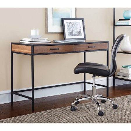 Mainstays Metro Desk in Warm Ash