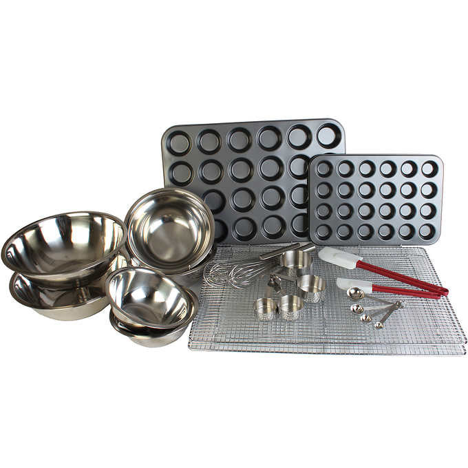 Restaurant Essentials Muffin and Cup Cake Maker 17 Piece Set