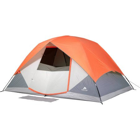 Ozark Trail 12' x 8' Dome Camping Tent with Roll Fly Back, Sleeps 6