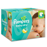 Pampers Baby Dry Diapers (Choose Your Size)