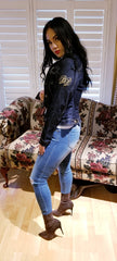 Baby Phat Denim Jacket Size Large