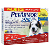 PetArmor Plus For Dogs 89-132 lbs, 3 month Application 2-count, 6 Month Total
