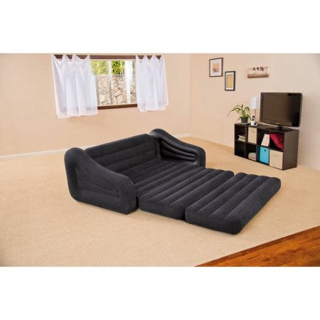 Amazing Intex Queen Inflatable Pull Out Sofa Bed Beatyapartments Chair Design Images Beatyapartmentscom