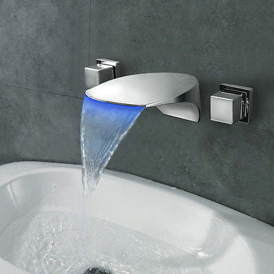 LED Waterfall Faucet A006