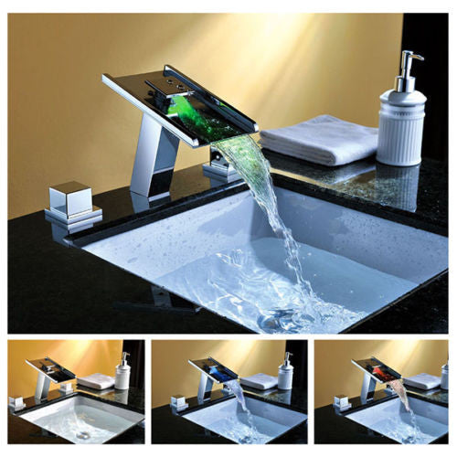 LED  Waterfall Faucet A014