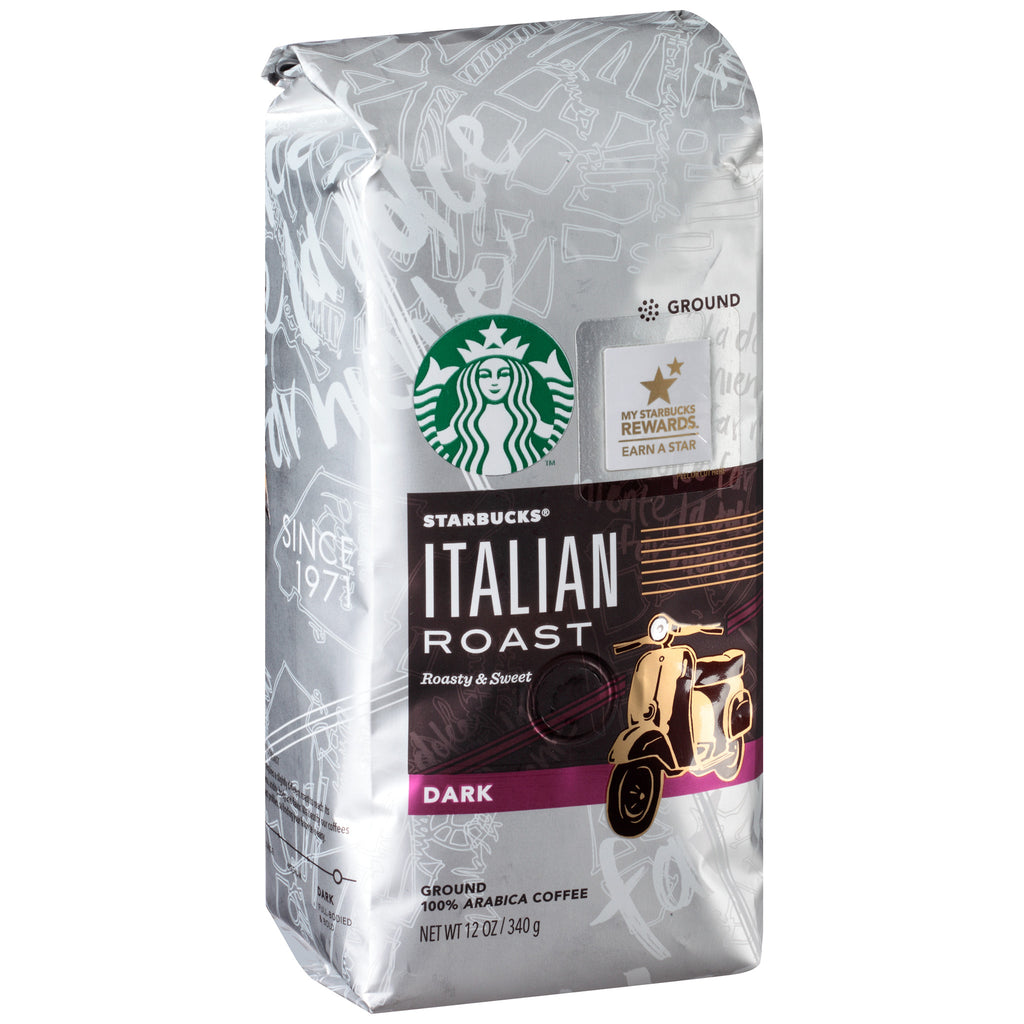 Starbucks® Italian Roast Dark Ground Coffee 12 oz