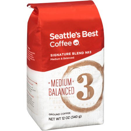 Seattle's Best Coffee™ Medium & Balanced Signature Blend No. 3 Ground Coffee 12 oz. Bag