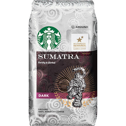 Starbucks Sumatra Ground 12 oz Package