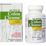 Super Colon Cleanse Stimulant Laxative Capsules, 100 count