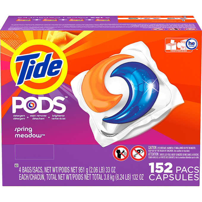 Tide Pods Spring Meadow Scent 152 Count