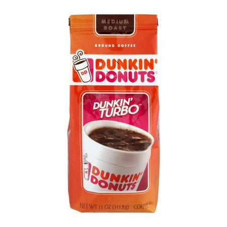 Dunkin' Donuts Dunkin' Turbo Ground Coffee, 11.0 OZ