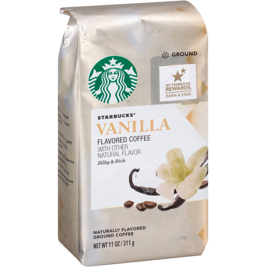 Starbucks® Vanilla Flavored Coffee with other Natural Flavor Silky & Rich 11 oz. Package