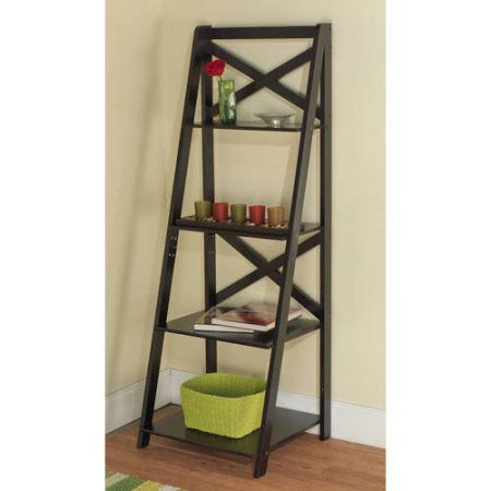 X 4-Tier Shelf, Multiple Finishes
