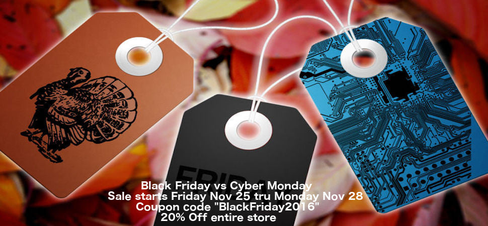 Black Friday vs Cyber Monday Sale!!!