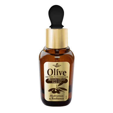 HerbOlive Beauty Elixir Face Oil Hydrating & Radiance 30ml/1.01oz, Face Oils/Eye Care, OnlyMySkin.com - OnlyMySkin.com