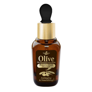 HerbOlive Beauty Elixir Face Oil Anti-aging & Nourishing 30ml/, Face Oils/Eye Care, OnlyMySkin.com - OnlyMySkin.com