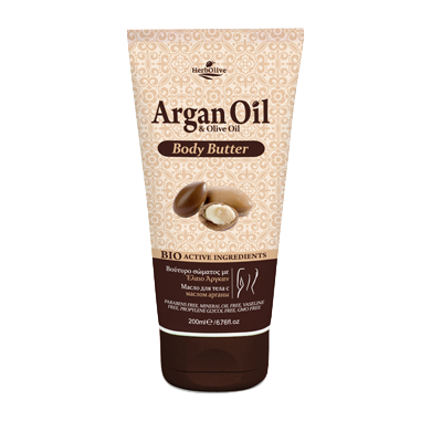 Argan Oil & Olive Oil Body Butter 200ml/6.76oz, Body Butter, OnlyMySkin.com - OnlyMySkin.com