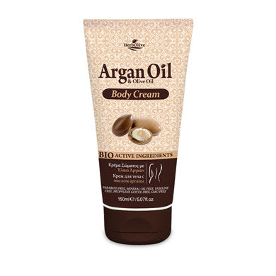 Argan Oil & Olive Oil Body Cream 150ml/5.07oz, Body cream, OnlyMySkin.com - OnlyMySkin.com