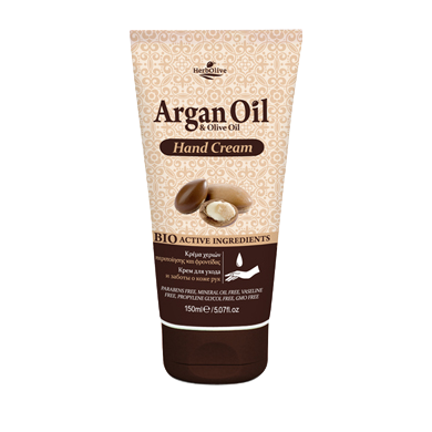 Argan Oil & Olive Oil Hand Cream 150ml/5.07oz, Hand cream, OnlyMySkin.com - OnlyMySkin.com