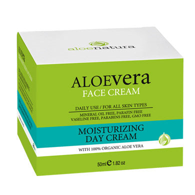 AloeNatura Moisturizing Face Cream 50ml/1.69oz, Face Creams, OnlyMySkin.com - OnlyMySkin.com