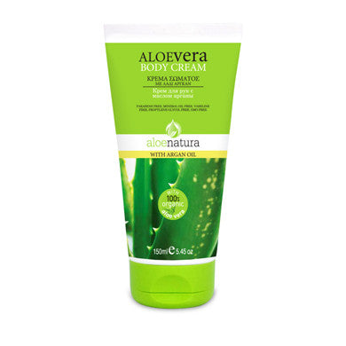 AloeNatura Body Cream, Argan Oil with Aloe Vera 5.45 OZ, Body cream, OnlyMySkin.com - OnlyMySkin.com