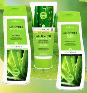Special-AloeNatura Body Lotion Nourishing, Hand Cream with Argan Oil & Shower Gel Aloe Vera, Hand cream, OnlyMySkin.com - OnlyMySkin.com