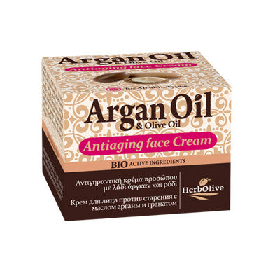 Argan Oil Anti-aging Face Cream 50ml/1.69oz (for all skin types), Ant-aging, OnlyMySkin.com - OnlyMySkin.com
