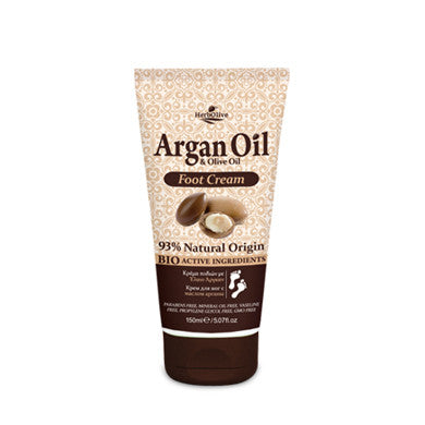 Argan Oil & Olive Oil Foot Cream 150ml/5.07oz, Foot Cream, OnlyMySkin.com - OnlyMySkin.com