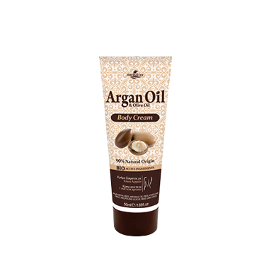 Argan Oil & Olive Oil Mini Body Cream 50ml/1.69oz, Body cream, OnlyMySkin.com - OnlyMySkin.com