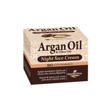 Argan Oil & Olive Oil Face Cream Night Time All Skin Types 50ml /1.69oz, Face Cream, OnlyMySkin.com - OnlyMySkin.com